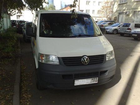 Volkswagen Transporter 2006 - отзыв владельца