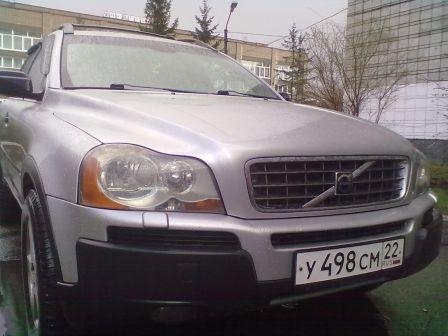 Volvo XC90 2003 - отзыв владельца