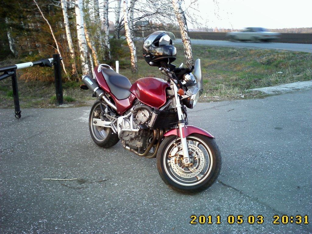 Xin Kai Xin Kai 1998 06 литра отзыв о мотоцикле Honda Hornet 600