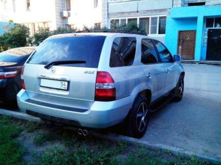 Acura MDX 2002 - отзыв владельца