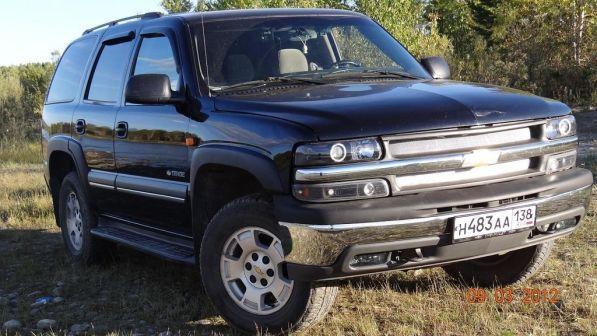 Chevrolet Tahoe 2003 - отзыв владельца