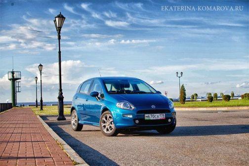 Fiat Punto 2012 - отзыв владельца