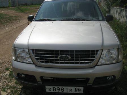 Ford Explorer 2005 - отзыв владельца