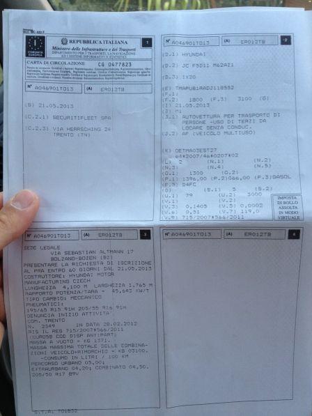 Hyundai ix20 2013 - отзыв владельца
