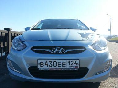 Hyundai Solaris 2011 отзыв автора | Дата публикации 26.03.2013.