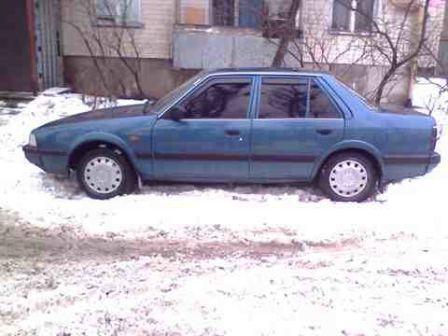 Mazda 626 1986 - отзыв владельца