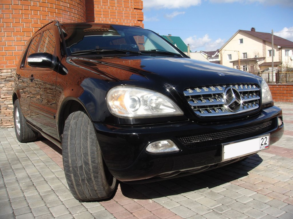 2003 3 7 for Mercedes benz mclass