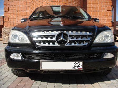 Mercedes-Benz M-Class 2003 - отзыв владельца