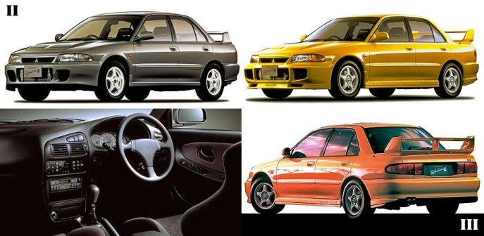 Mitsubishi Lancer 1994 - отзыв владельца