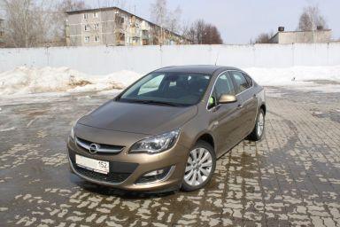 Opel Astra 2012 отзыв автора | Дата публикации 28.06.2013.