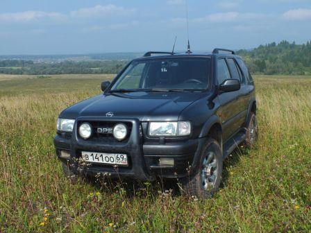 Opel Frontera 1999 - отзыв владельца