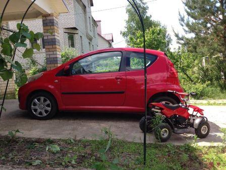 Peugeot 107 2009 - отзыв владельца