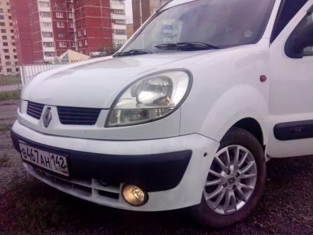 Renault Kangoo 2004 - отзыв владельца