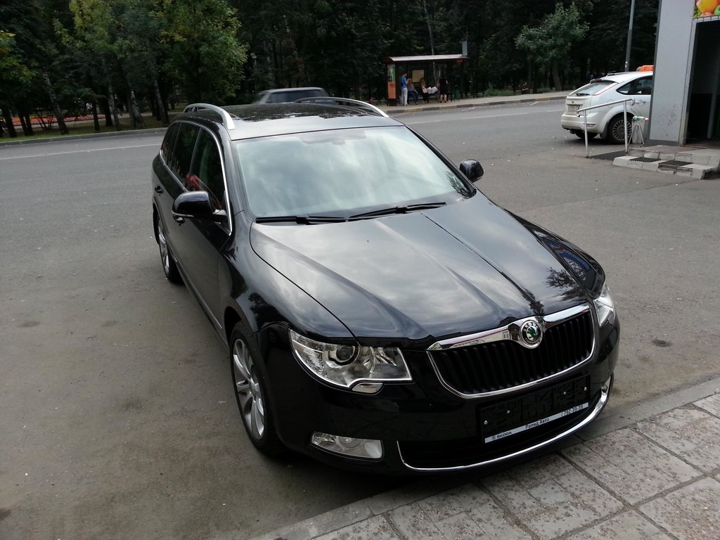 отзывы skoda superb ii