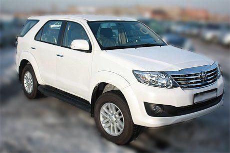 Toyota Fortuner 2012 - отзыв владельца