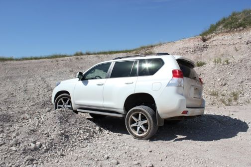 Toyota Land Cruiser Prado  - отзыв владельца