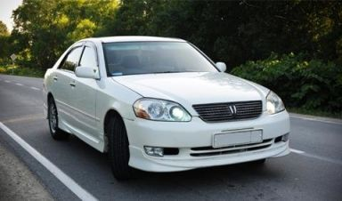 Toyota Mark II, 2001