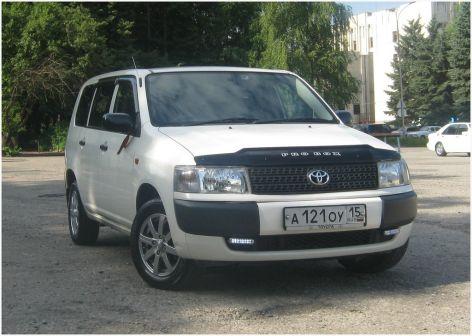 Toyota Probox 2007 - отзыв владельца