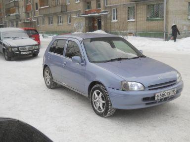 Toyota Starlet 1998 отзыв автора | Дата публикации 19.07.2013.