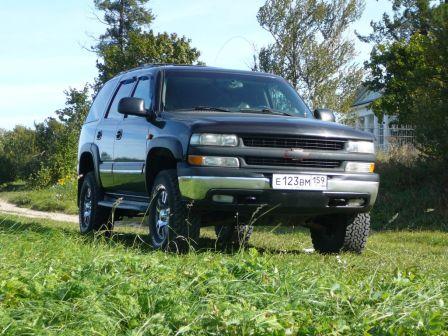Chevrolet Tahoe 2005 - отзыв владельца