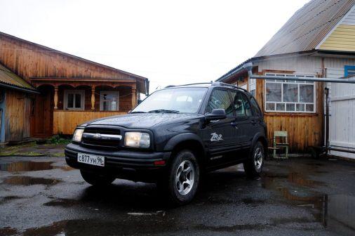 Chevrolet Tracker 2002 - отзыв владельца