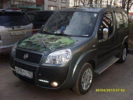 Fiat Doblo 2012 - отзыв владельца