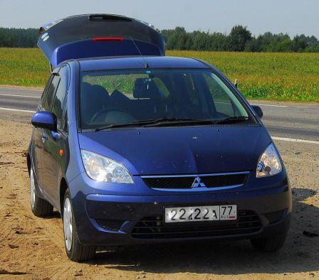 Mitsubishi Colt Plus 2010 - отзыв владельца