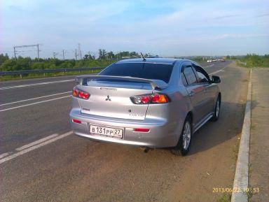Mitsubishi Lancer, 2012