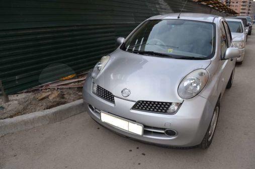 Nissan March 2006 - отзыв владельца