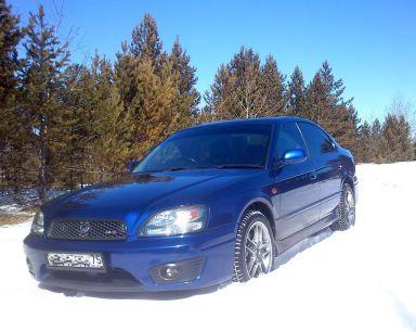 Subaru Legacy B4 2001 отзыв автора | Дата публикации 07.07.2013.