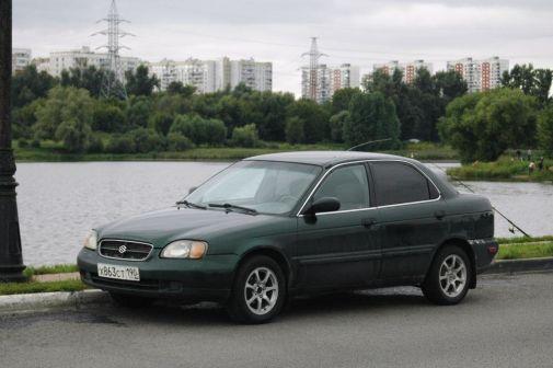 Suzuki Esteem 2000 - отзыв владельца