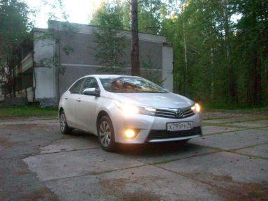 Toyota Corolla 2013 отзыв автора | Дата публикации 20.08.2013.
