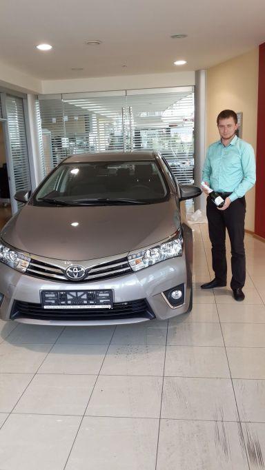 Toyota Corolla 2013 отзыв автора | Дата публикации 29.09.2013.