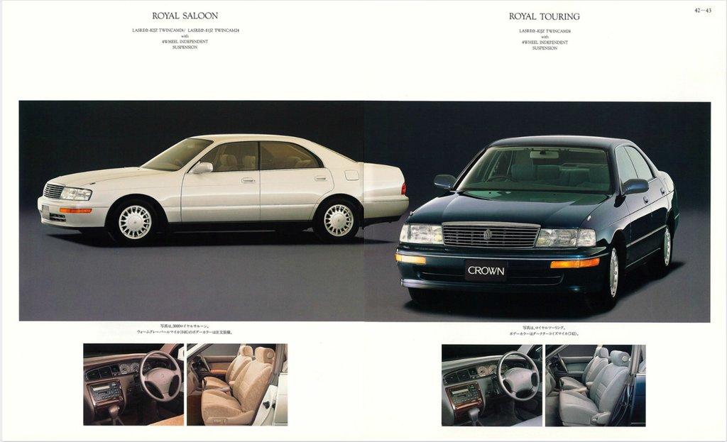 Toyota Crown технические характеристики
