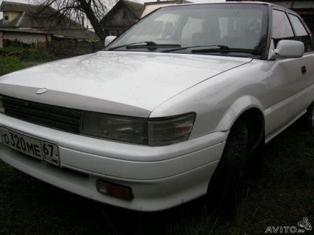 Toyota Sprinter 1987 - отзыв владельца