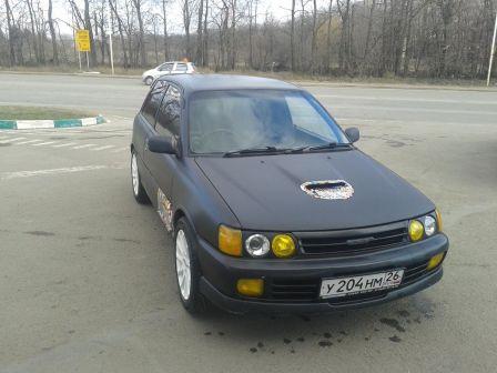 Toyota Starlet 1992 - отзыв владельца