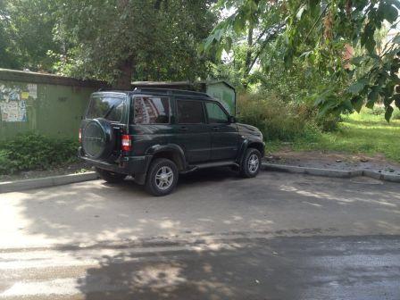УАЗ Патриот 2013 - отзыв владельца