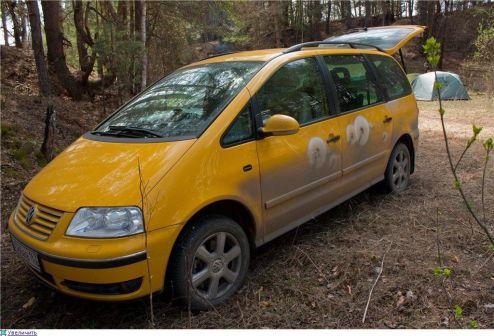 Volkswagen Sharan 2004 - отзыв владельца