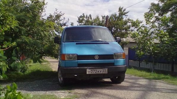 Volkswagen Transporter 1991 - отзыв владельца