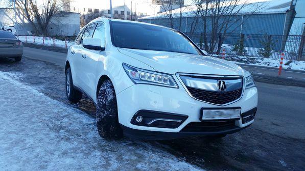 Acura MDX 2014 - отзыв владельца
