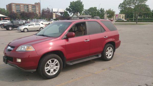 Acura MDX 2004 - отзыв владельца