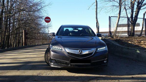 Acura TLX 2014 - отзыв владельца