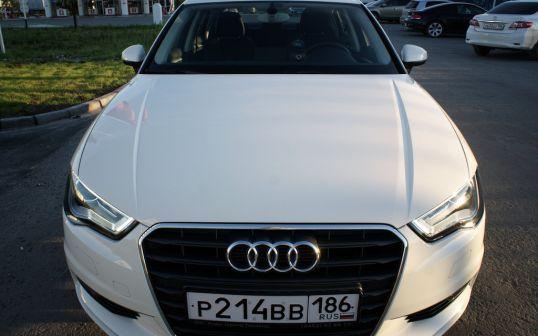 Audi A3 2013 - отзыв владельца