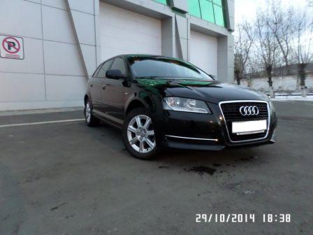 Audi A3 2012 - отзыв владельца