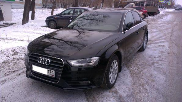 Audi A4 2012 - отзыв владельца