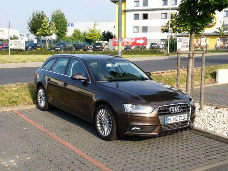 Audi A4 2014 - отзыв владельца
