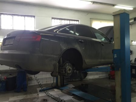 Audi A6 2010 - отзыв владельца
