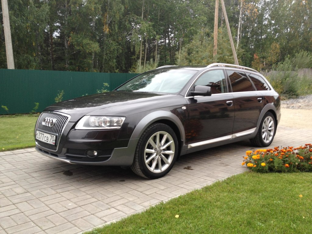 audi a6 allroad quattro 2007. Black Bedroom Furniture Sets. Home Design Ideas