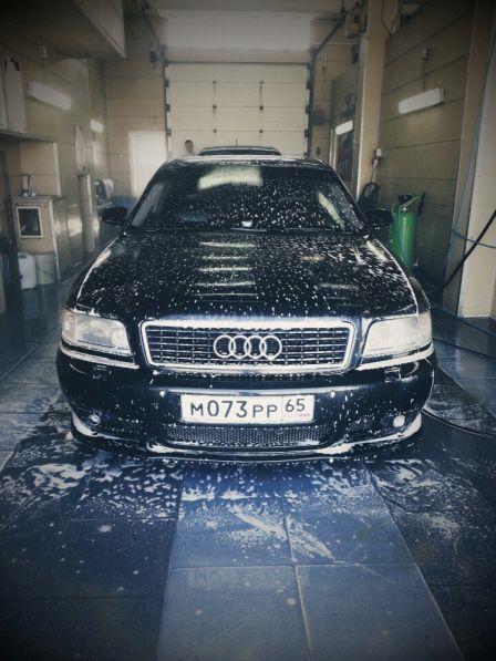 Audi A8 2001 - отзыв владельца