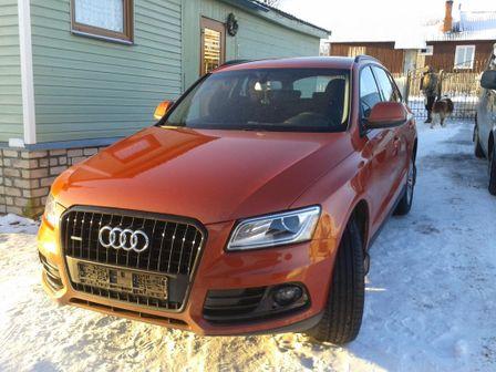 Audi Q5 2013 - отзыв владельца